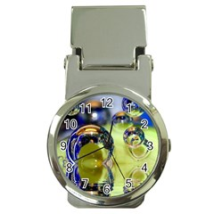 Marble Money Clip With Watch by Siebenhuehner