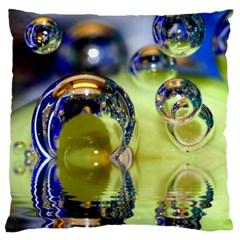 Marble Large Cushion Case (single Sided)  by Siebenhuehner