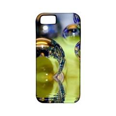 Marble Apple Iphone 5 Classic Hardshell Case (pc+silicone) by Siebenhuehner