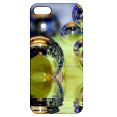 Marble Apple Iphone 5 Hardshell Case With Stand by Siebenhuehner