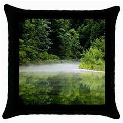 Foog Black Throw Pillow Case by Siebenhuehner
