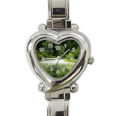 Foog Heart Italian Charm Watch  by Siebenhuehner