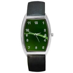 Pearls   Tonneau Leather Watch by Siebenhuehner