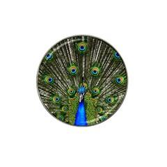 Peacock Golf Ball Marker 10 Pack (for Hat Clip) by Siebenhuehner