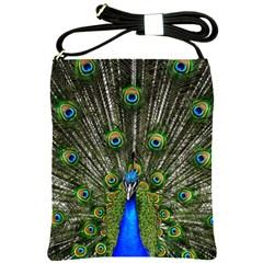 Peacock Shoulder Sling Bag by Siebenhuehner
