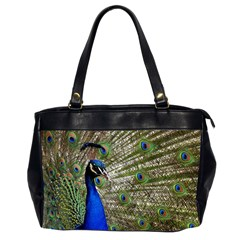 Peacock Oversize Office Handbag (two Sides) by Siebenhuehner