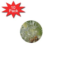 Dandelion 1  Mini Button Magnet (10 Pack) by Siebenhuehner