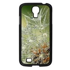 Dandelion Samsung Galaxy S4 I9500/ I9505 Case (black) by Siebenhuehner