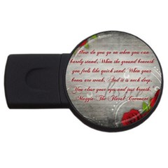 Maggie s Quote 2gb Usb Flash Drive (round) by AuthorPScott