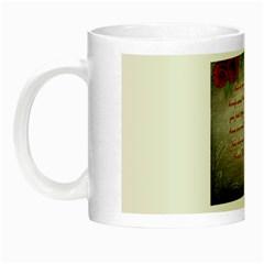 Maggie s Quote Glow In The Dark Mug by AuthorPScott