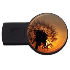 Dandelion 4GB USB Flash Drive (Round) by Siebenhuehner