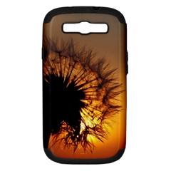 Dandelion Samsung Galaxy S Iii Hardshell Case (pc+silicone) by Siebenhuehner