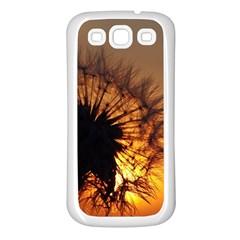 Dandelion Samsung Galaxy S3 Back Case (white) by Siebenhuehner