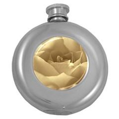 Rose  Hip Flask (round) by Siebenhuehner