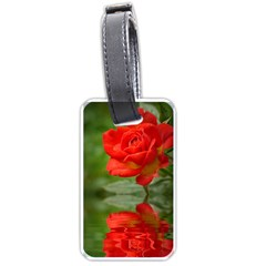 Rose Luggage Tag (one Side) by Siebenhuehner