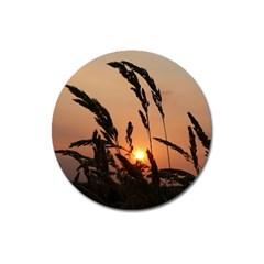 Sunset Magnet 3  (round) by Siebenhuehner