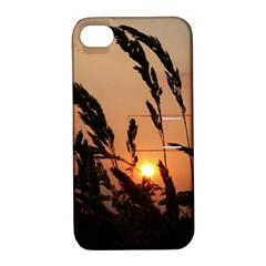 Sunset Apple Iphone 4/4s Hardshell Case With Stand by Siebenhuehner