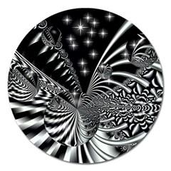 Space Magnet 5  (round) by Siebenhuehner