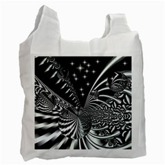 Space Recycle Bag (two Sides) by Siebenhuehner