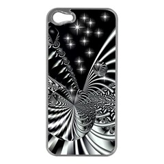 Space Apple Iphone 5 Case (silver) by Siebenhuehner