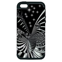 Space Apple Iphone 5 Hardshell Case (pc+silicone) by Siebenhuehner