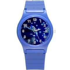 Sky Plastic Sport Watch (small) by Siebenhuehner