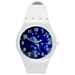 Sky Plastic Sport Watch (medium) by Siebenhuehner