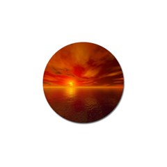 Sunset Golf Ball Marker by Siebenhuehner