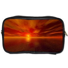 Sunset Travel Toiletry Bag (two Sides) by Siebenhuehner