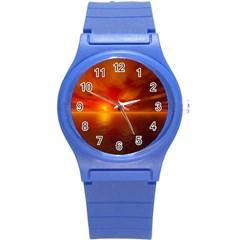 Sunset Plastic Sport Watch (small) by Siebenhuehner