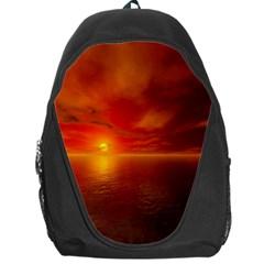 Sunset Backpack Bag by Siebenhuehner