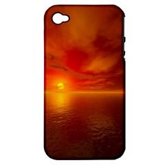 Sunset Apple Iphone 4/4s Hardshell Case (pc+silicone) by Siebenhuehner