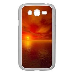 Sunset Samsung Galaxy Grand Duos I9082 Case (white) by Siebenhuehner