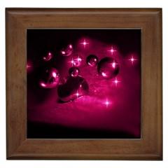 Sweet Dreams  Framed Ceramic Tile by Siebenhuehner
