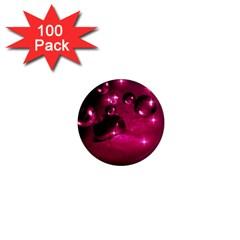 Sweet Dreams  1  Mini Button Magnet (100 Pack) by Siebenhuehner