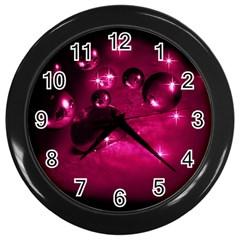 Sweet Dreams  Wall Clock (black) by Siebenhuehner