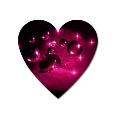 Sweet Dreams  Magnet (heart) by Siebenhuehner