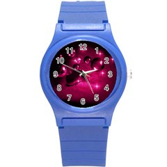Sweet Dreams  Plastic Sport Watch (small) by Siebenhuehner
