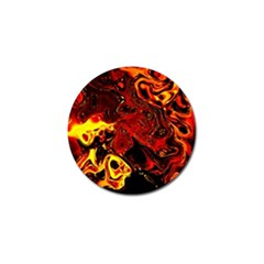 Fire Golf Ball Marker by Siebenhuehner