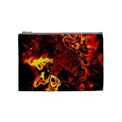 Fire Cosmetic Bag (medium) by Siebenhuehner