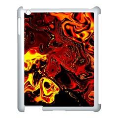 Fire Apple Ipad 3/4 Case (white) by Siebenhuehner