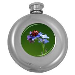 Good Luck Hip Flask (round) by Siebenhuehner