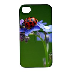 Good Luck Apple Iphone 4/4s Hardshell Case With Stand by Siebenhuehner