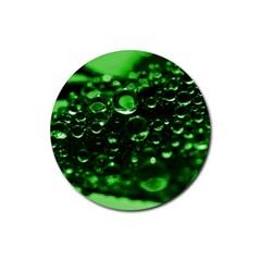 Waterdrops Drink Coasters 4 Pack (round) by Siebenhuehner