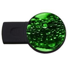 Waterdrops 4gb Usb Flash Drive (round) by Siebenhuehner