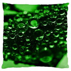 Waterdrops Large Cushion Case (single Sided)  by Siebenhuehner