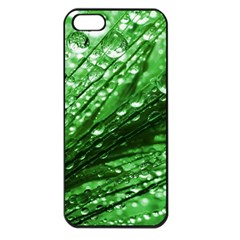 Waterdrops Apple Iphone 5 Seamless Case (black) by Siebenhuehner