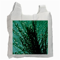 Waterdrops Recycle Bag (one Side) by Siebenhuehner