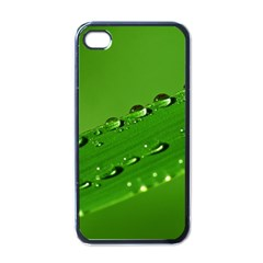 Waterdrops Apple Iphone 4 Case (black) by Siebenhuehner
