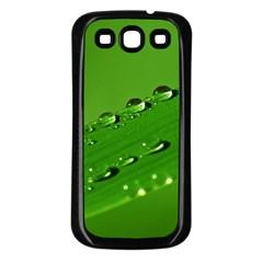 Waterdrops Samsung Galaxy S3 Back Case (black) by Siebenhuehner